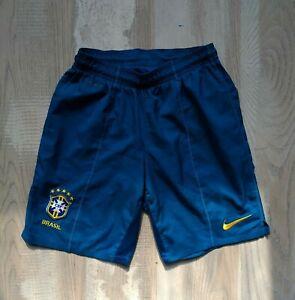 Brazil Away football shorts 2011 - 2012 Nike 405511-300 Mens Size S V