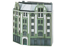 Trix 66309 Minitrix N Track Kit Large Corner Town House in Modern Style #new