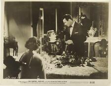 """""""QUEEN BEE""""-ORIGINAL PHOTO-JOAN CRAWFORD-BARRY SULLIVAN-AT DINING ROOM TABLE"""