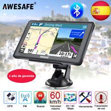 """7""""awesafe GPS navegador para coche SAT NAV con Bluetooth 8GB Europa mapa 256m"""