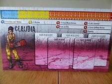Zombicide-Claudia-Carattere Pannello Di Controllo Card (solo scheda)