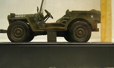 JEEP  CHRYSLER WILLYS 1941 WW II NIB  DIECAST REPLICA 1:32 CERT OF REGISTRATION