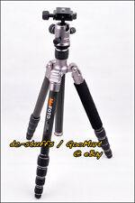 MeFoto RoadTrip C1350Q1 Carbon Fiber Tripod Monopod Kit Ti * EXPRESS SHIP