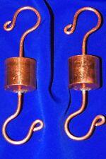 two original Grandpa Handcrafted Copper Ant Trap Guard Moat 4 Hummingbird Feeder