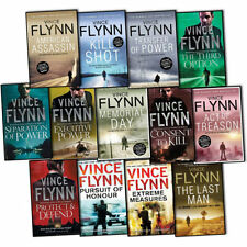 Vince Flynn Mitch Rapp 13 Books Collection Pack Set( Executive Power,The Third O
