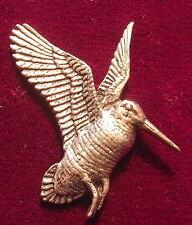 Peltre De Calidad Cazando Volador Pájaro Chocha Broche