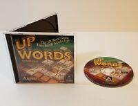 UpWords PC CD-Rom 1999 windows hasbro 3d word game