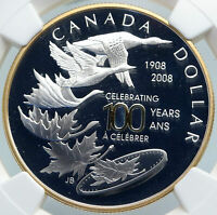 2008 CANADA Quebec City 100 Year SAMUEL CHAMPLAIN Proof SILVER $ Coin NGC i87844