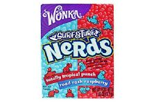 Nerds Surf and Turf Raspberry and Tropical Punch 46g (pack of 10)