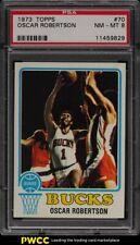 1973 Topps Basketball Oscar Robertson #70 PSA 8 NM-MT