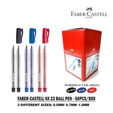 FABER CASTELL NX23 BALL PEN - 0.5MM/ 0.7MM/ 1.0MM (50 PCS/ BOX)