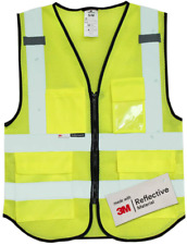 New listing Salzmann 3M Multi-Pocket Safety Mesh Vest | High Visibility Reflective Mesh Vest