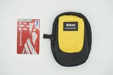 NIKON COOLPIX Digital Camera Case BAG S2900 S3500 P300 YELLOW