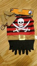 NWT Pet Costume. Pirate. Size M
