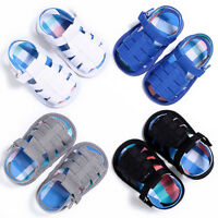 Summer Newborn Baby Boy Girl Sandals Soft Sole Crib Shoes Sneaker Prewalker