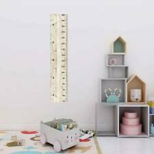 Kids Height Growth Chart Wall Sticker Measure Decal Home Self-adhesive DIY Decor