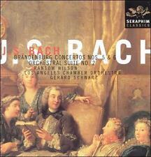 BACH Brandenburg Concertos Nos. 5 & 6; Orchestral Suite CD Ransom Wilson SCHWARZ