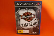 HARLEY DAVIDSON MOTOR CYCLES PLAYSTATION 2 PS2 (NO BOOKLET) - FREE POST