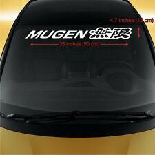 Honda Mugen WINDSHIELD CAR STICKER vinyl decal ACCORD Fit CR-V