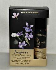Bath & Body Works Inspire Violet, Sandalwood & Eucalyptus Essential Oil Roll-On