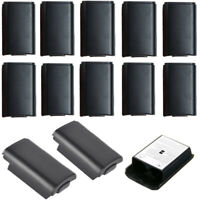 10Pcs Replacement Battery Pack Back Case Cover For Xbox 360 Wireless Controller