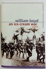 An Ice Cream War William Boyd Adventure set 1914 Historical Novel fiction book