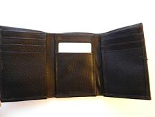 Cole Haan Mens Wallet TRIFOLD  CHOCOLATE New Leather Goodtreasures123