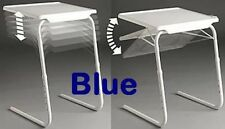 Seconds Blue TableMate II Smart Dinner Tray Foldable Adjustable Table Mate 2 TV