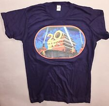 1977 20th Century FOX PROMO Orig Star Wars ANH IV Indiana Jones ROTLA DS T-Shirt