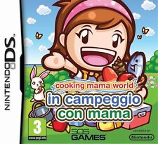 Cooking Mama Worl - In Campeggio Con Mama - Nintendo DS