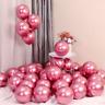 "20/30PCS 12"" Metallic Pearl Chrome Latex Balloons for Wedding Birthday Party"
