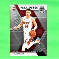 2019-20 Panini Prizm Mosaic Tyler Herro Rookie Card RC NBA Debut Miami Heat
