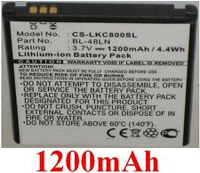 Batterie 1200mAh type BL-48LN Pour LG VM696