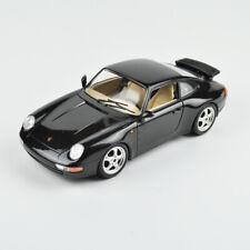 Porsche 911 Carrera (1993) - Bburago/Burago - 1:18 - Black Metallic - Black