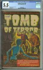 TOMB OF TERROR #6 CGC 5.5 OW/WH PAGES