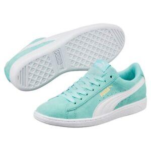 Puma Vikky - Ladies Casual Trainer - Turquoise/White