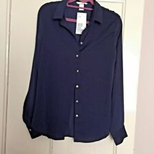 0284ae4567903a H M Silk Tops   Shirts for Women for sale