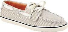SPERRY TopSider Cruiser Tan & Ivory Stripe Boat Shoes NIB Womens Sz 7.5m EUR 38