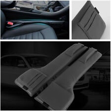 Multifunction PU Leather Auto Seat Side Gap Filler Storage Organizer Pocket Neat