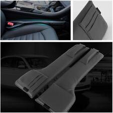 A Pair Multifunction PU Leather Car Seat Side Gap Filler Storage Pocket Superb