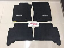 2013-2017 4RUNNER OEM CARPET FLOOR MATS BLACK GENUINE TOYOTA PT208-89130-20