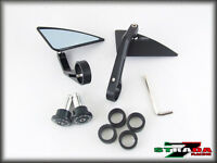Strada 7 Racing CNC Aluminium Bar End Mirrors 2007 - 2012 Kawasaki Z750 Z750R