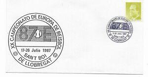 España Campeonato de Europa de Beisbol Sant Boi de Llobregat año 1977 (EE-771)