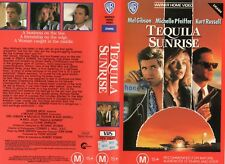 TEQUILA SUNRISE - Gibson - VHS - PAL - NEW - Never played! - Original Oz release