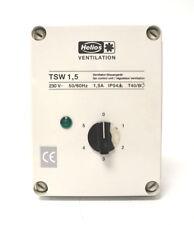 Helios Ventilateur-Dispositif de commande TSW 1,5 Nº 1495.001 | 230 V | 50/60hz