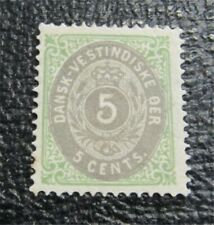 nystamps US DWI Denmark Stamp # 8 Mint OG H $30   N27x902