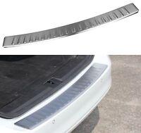 2017+ Skoda Octavia Estate MK3Chrome Rear Bumper Protector Scratch Guard S.Steel