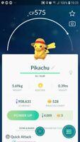 Pikachu ( Straw Hat ) Trade Pokemon GO