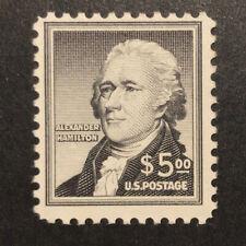 TDStamps: US Stamps Scott#1053 $5 Min NH OG CV$50.00