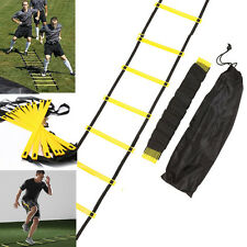 12-rung 6M Agility Ladder for Speed Soccer Football Fitness Feet Training + Bag